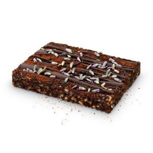 Levendulás brownie